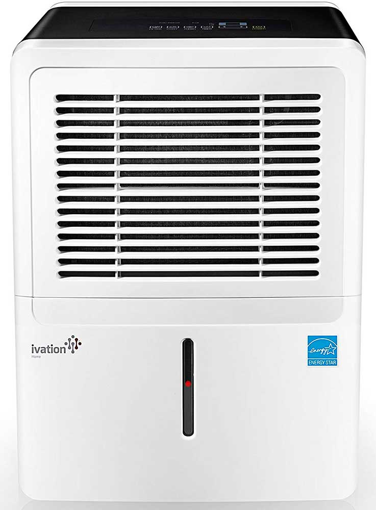 Ivation 30 Pint IVALDH30PW Dehumidifier Review