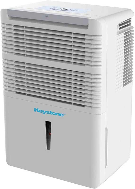 Keystone KSTAD50B 50-Pint Dehumidifier