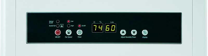 Friedrich D70BPA 70 Pint Control Panel